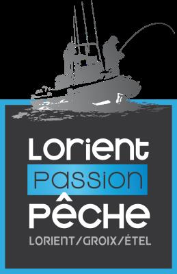 Logo lorient passion peche